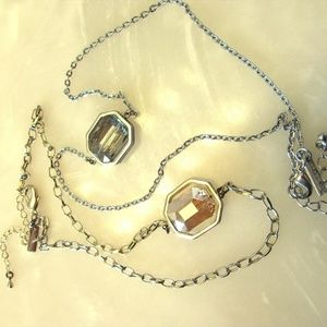 Bronze & Silver Necklaces